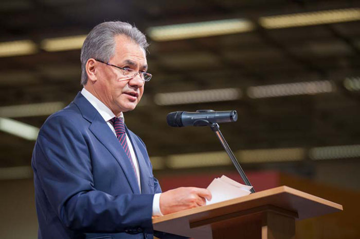 Sergei Shoigu, President of the Russian Geographical Society
